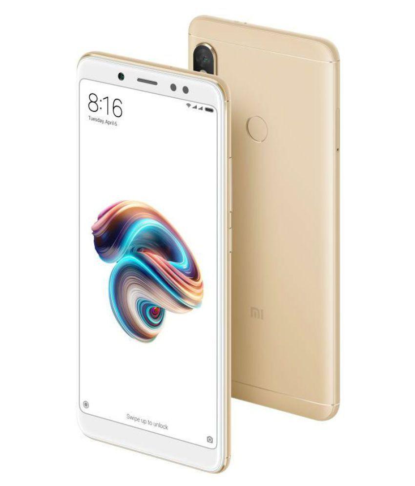 super popular ea0f1 f6b81 Redmi Note 5 Pro 4 ( 64GB , 4 GB ) Gold
