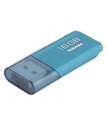 Toshiba U202A 16GB USB 2.0 Utility Pendrive Single