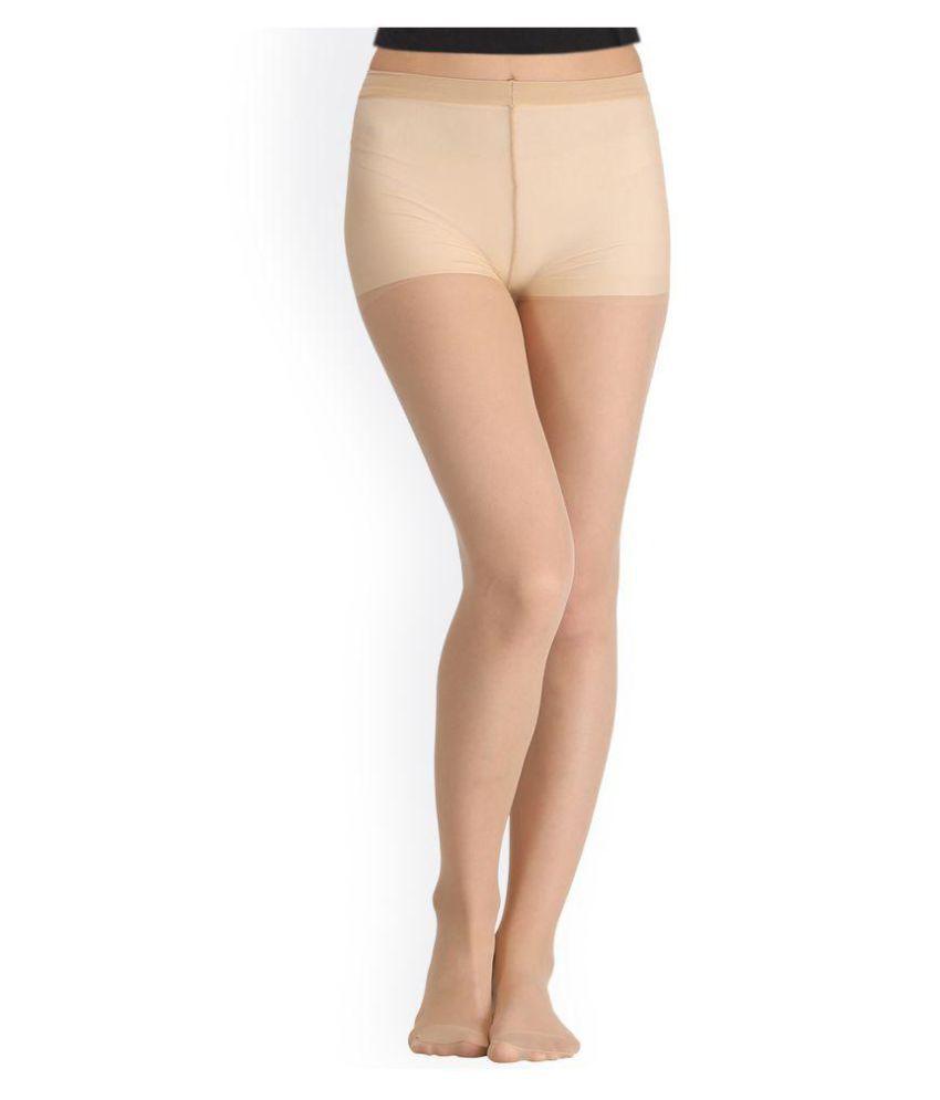6b35a9d43dc Golden Girl Pack Of 2 Black   Beige Sheer Pantyhose Stockings  Buy ...
