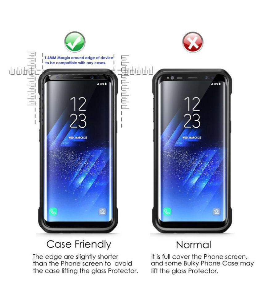 Samsung Galaxy S7 Edge Tempered Glass Screen Guard By FIRSTGEAR