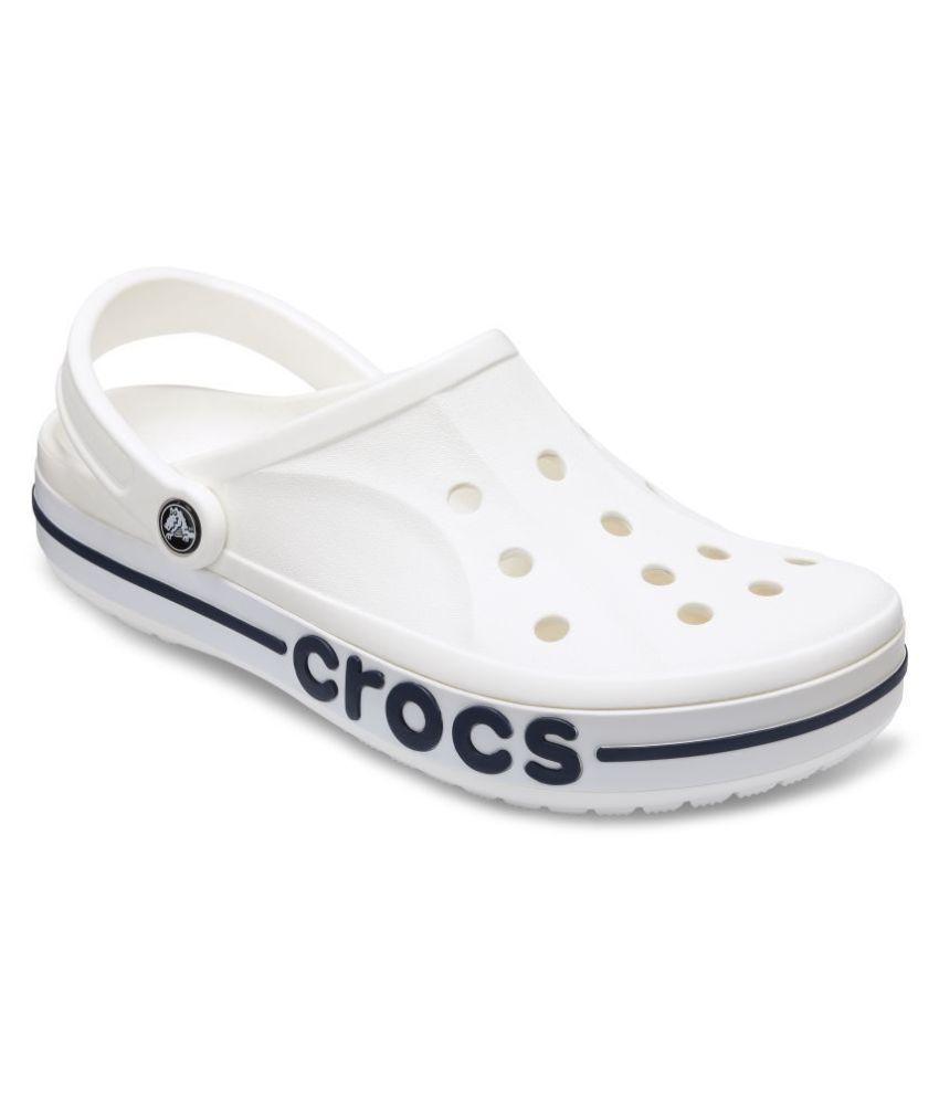 kolejna szansa gorący produkt oszczędzać Crocs White Floater Sandals