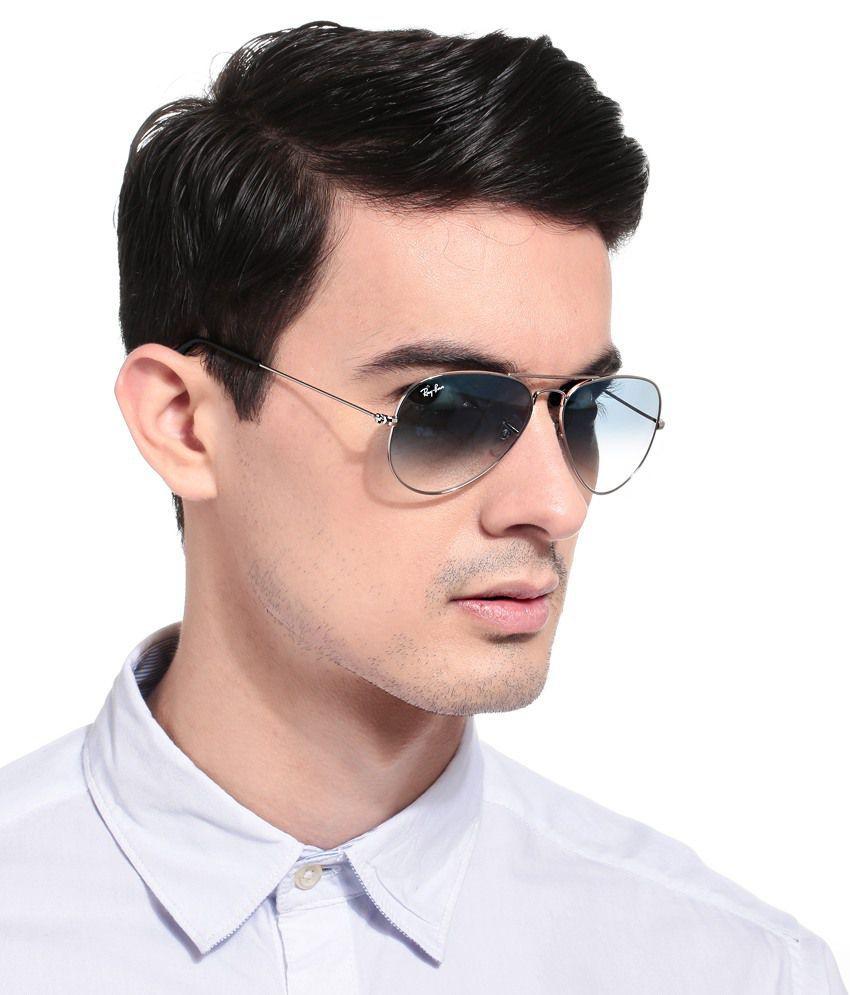 6f66e193f562c Fashion Blue Aviator Sunglasses ( RB 3025 58014-135 ) - Buy Fashion Blue  Aviator Sunglasses ( RB 3025 58014-135 ) Online at Low Price - Snapdeal
