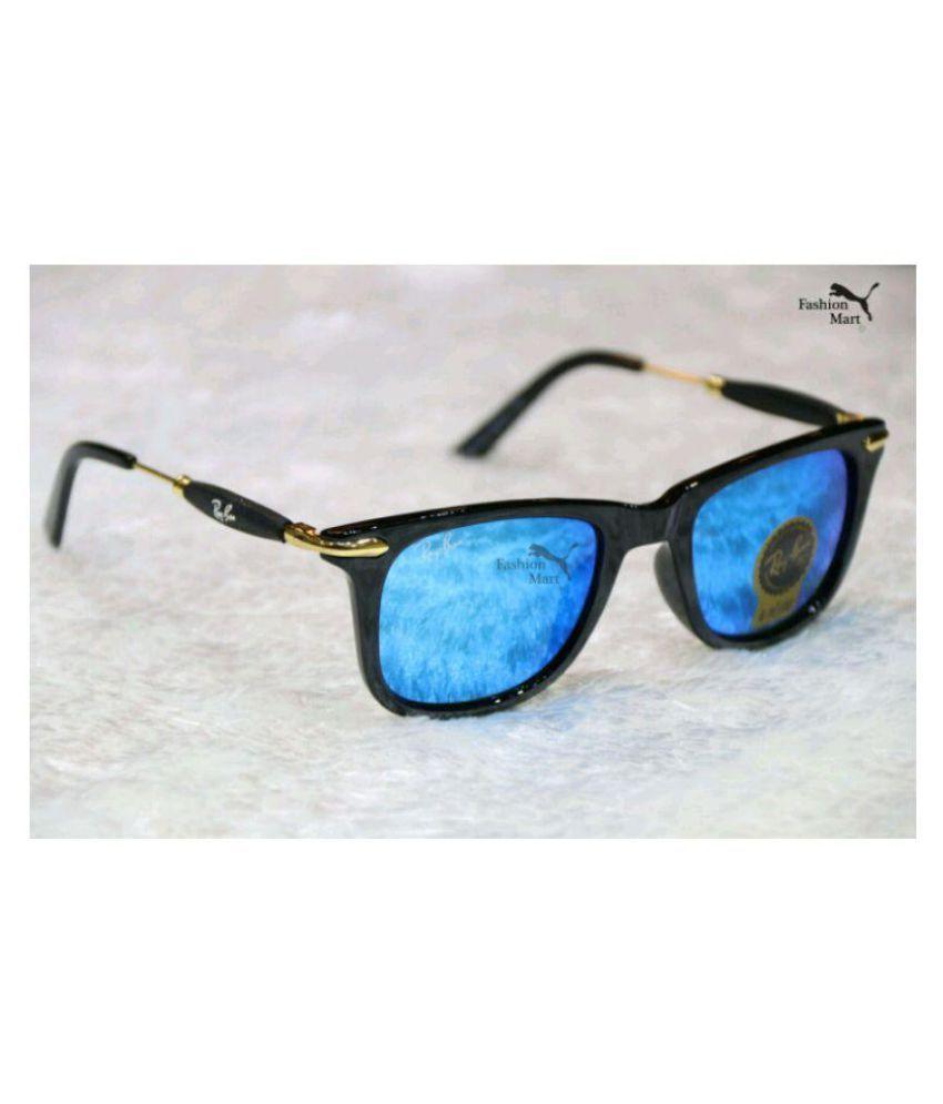 Bend the trend Blue Wayfarer Sunglasses ( 570 HT )