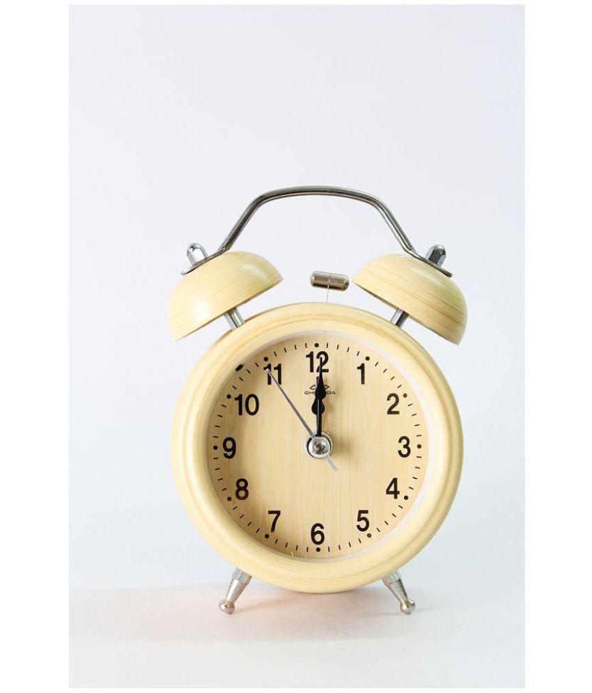 Laps of Luxury Analog Vintage Alarm Clock Pack of 1 Buy Laps of