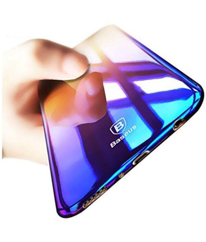 quality design 32d7f 55827 Xiaomi MI A1 Plain Cases ELEF - Purple Baseus Blue Light Glaze Premium  Series Case