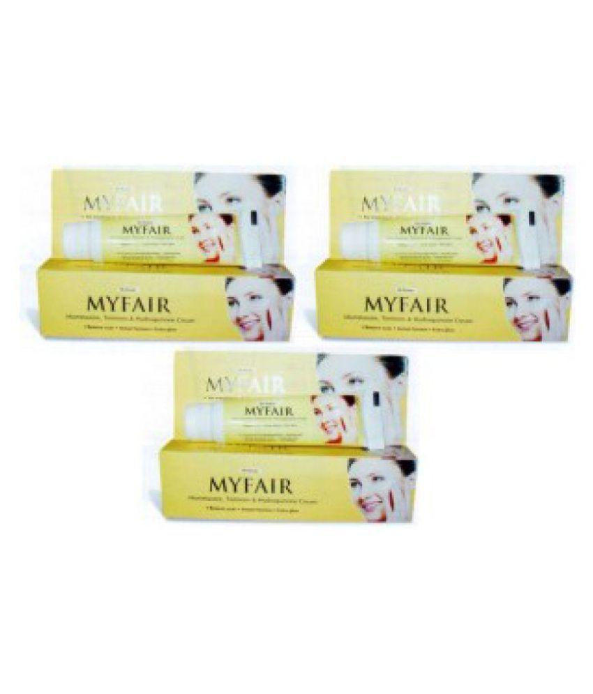 My Fair Night Cream instant fairness 20 gm each gm Pack of 3