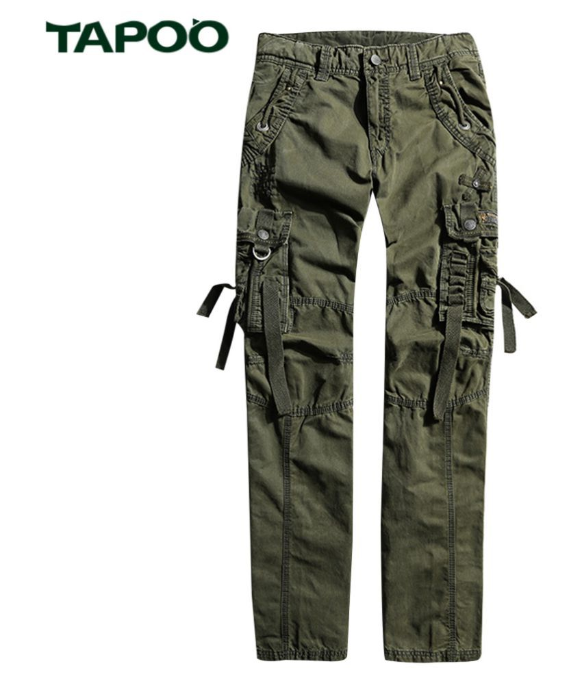 Whitleys Green Loose -Fit Flat Trousers