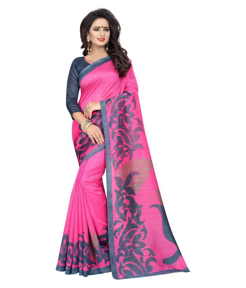 Mantra Multicoloured Bhagalpuri Silk Saree