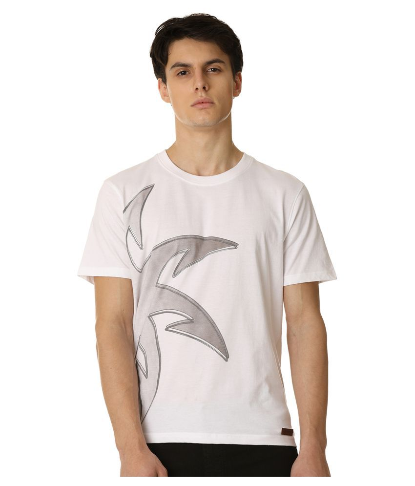 Zeven White Cotton T-Shirt