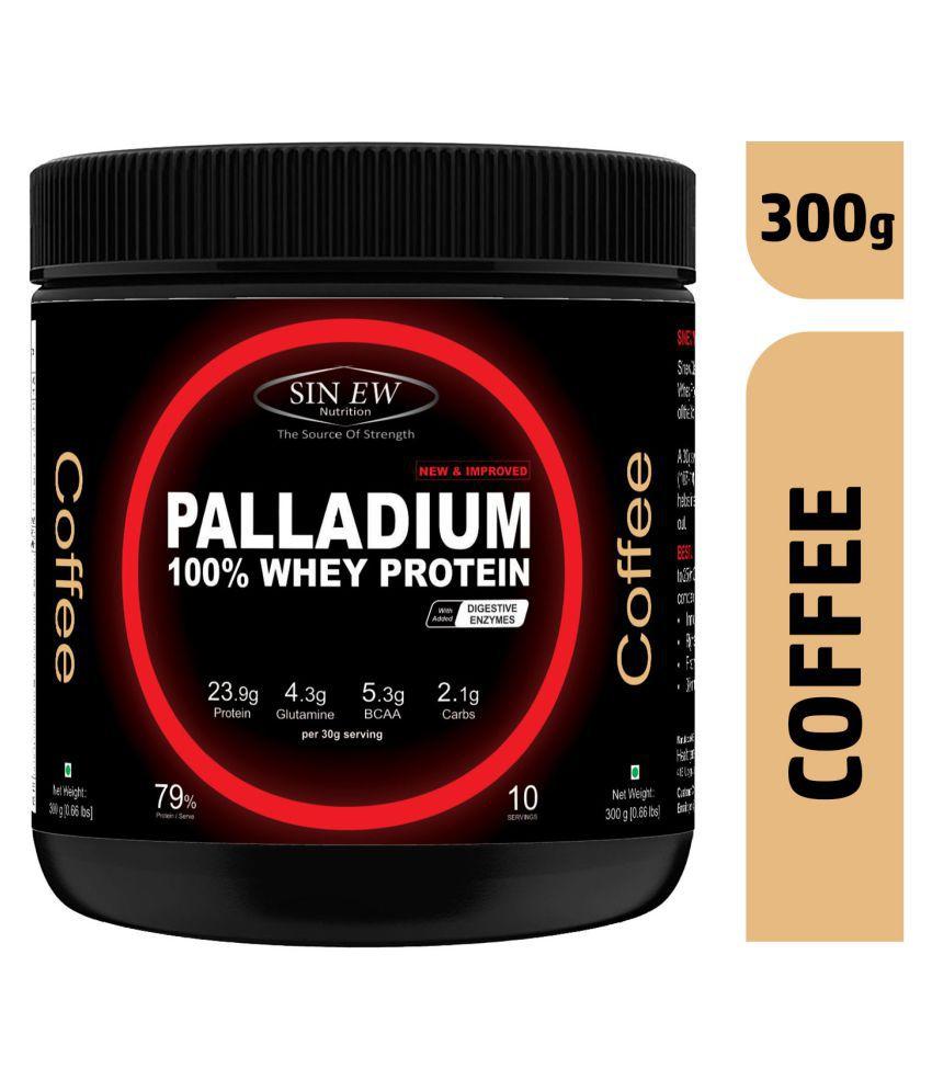 Sinew Nutrition Palladium Whey Protein (Coffee) 300 gm