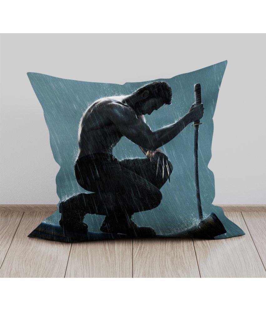 Mukesh Handicrafts Single Velvet Cushion Covers 30X30 cm (12X12)