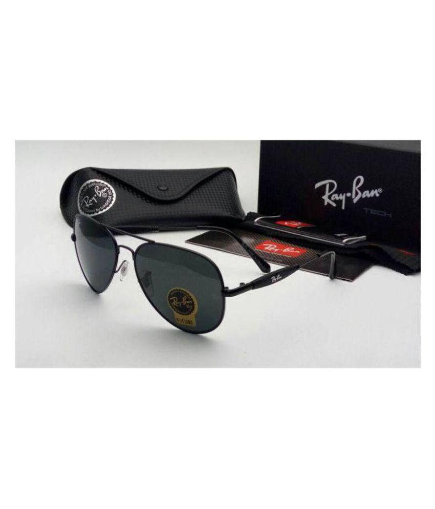 Ray Ban Avaitor Black Aviator Sunglasses ( black3517 )