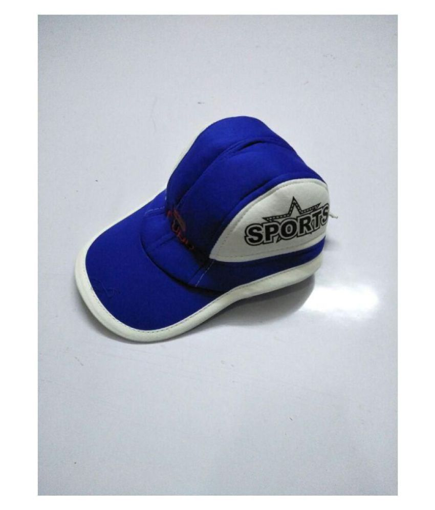 AE Blue Polyester Caps