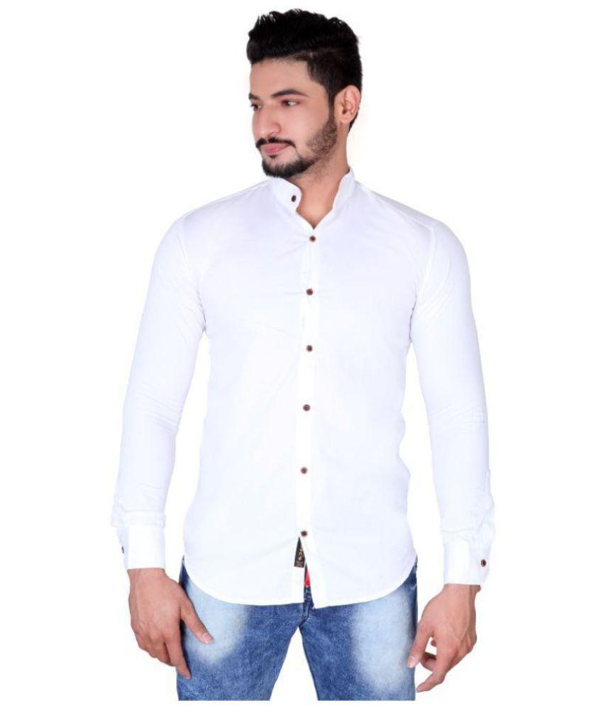 JUGEND White Slim Fit Shirt
