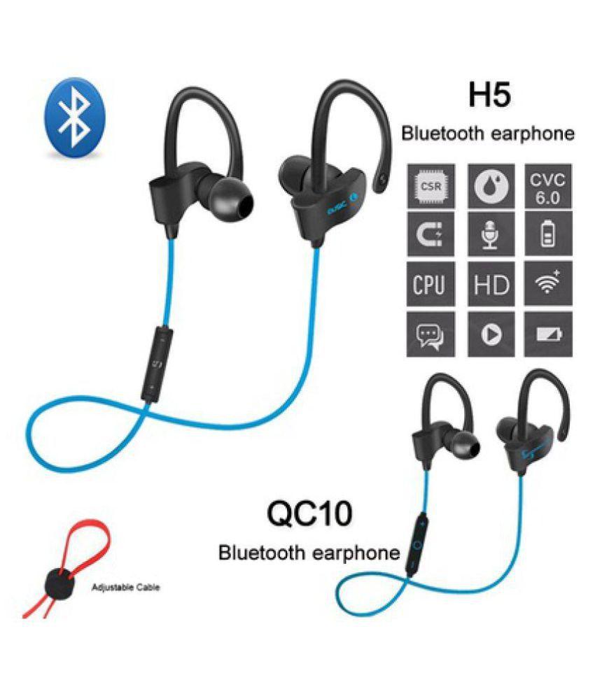 TOQON Wireless Bluetooth Headphone Blue
