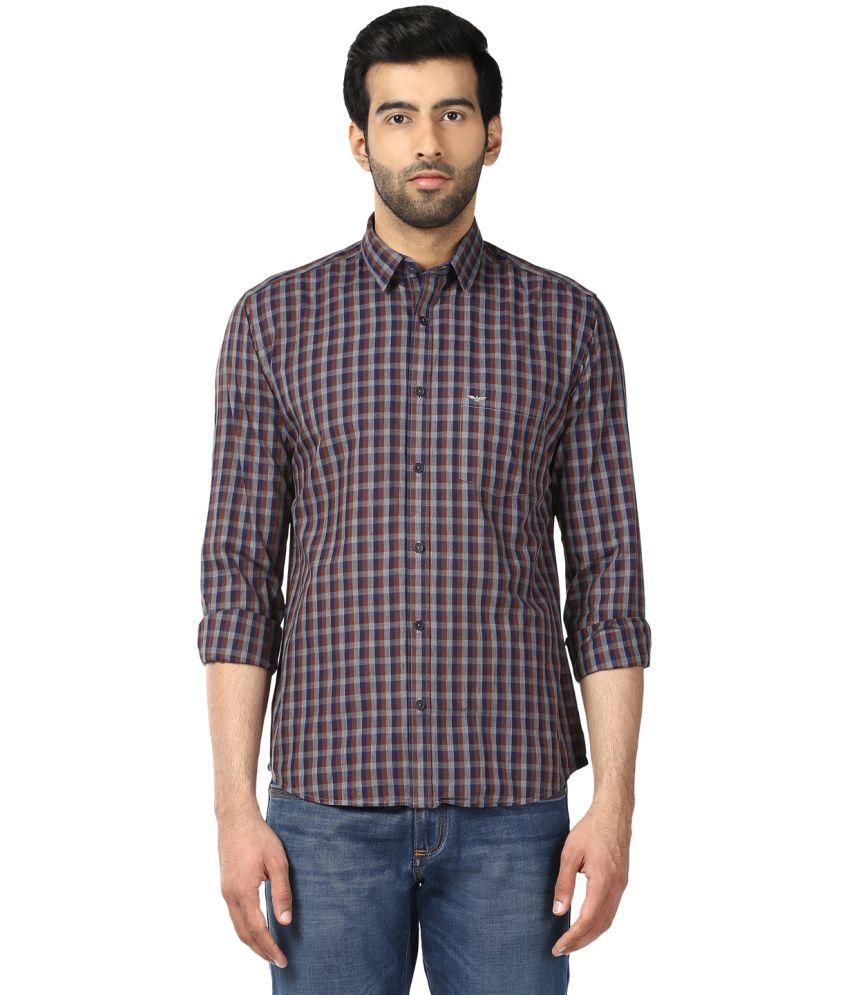 Park Avenue Multi Slim Fit Shirt