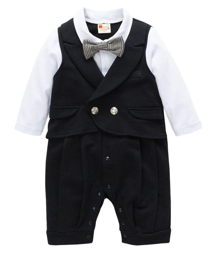d911d6834 Child Suits Cotton Jumpsuit Rompers Newborn Baby Boy Clothes ...