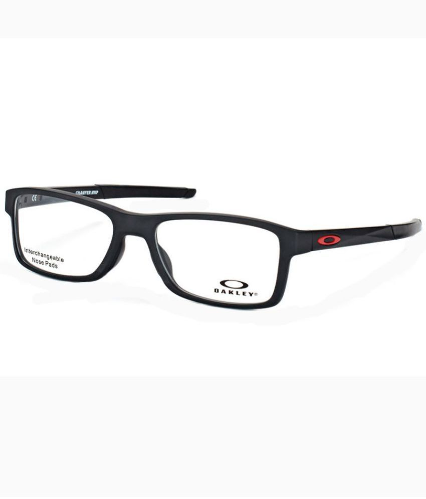 22a934882f OAKLEY Black Rectangle Spectacle Frame OX-8089-01-54 - Buy OAKLEY Black  Rectangle Spectacle Frame OX-8089-01-54 Online at Low Price - Snapdeal