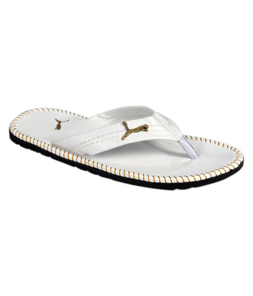 Pollo White Daily Slippers