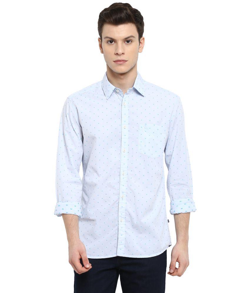 Raymond Blue Slim Fit Shirt
