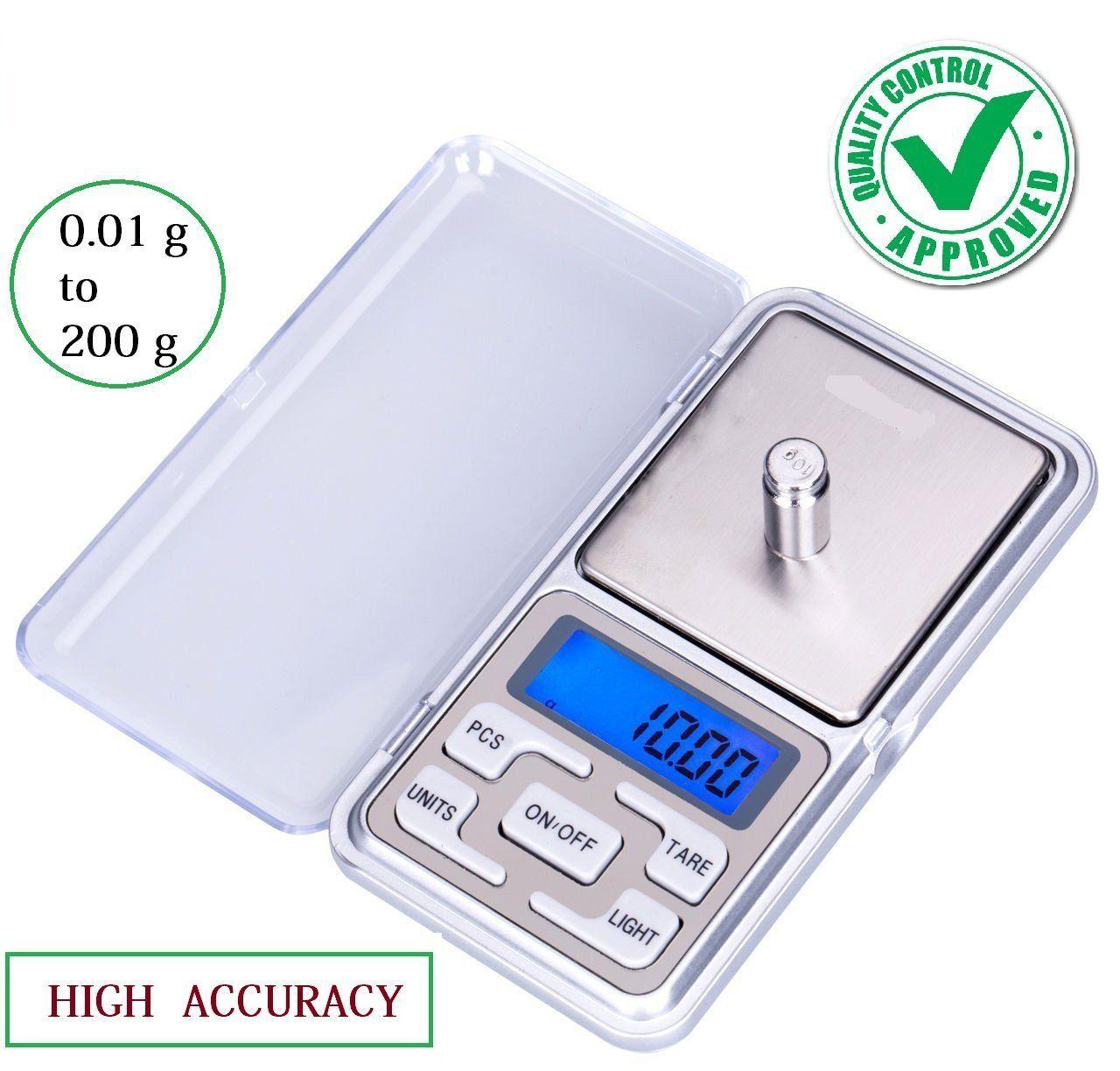 high accuracy mini digital jewellery weighing scale pocket