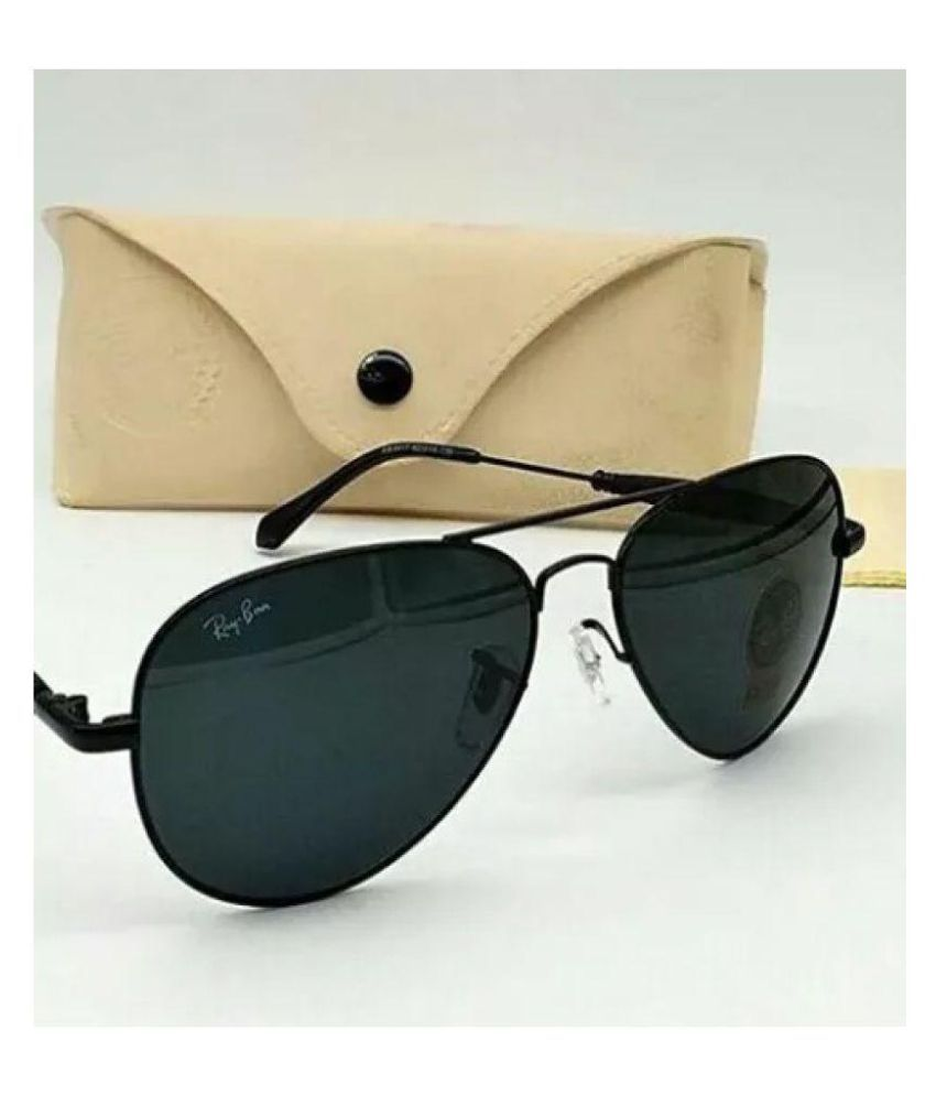 45dc5e287 Rayban 3517 Black Aviator Sunglasses ( BLK BLK 3517 ) - Buy Rayban 3517 Black  Aviator Sunglasses ( BLK BLK 3517 ) Online at Low Price - Snapdeal