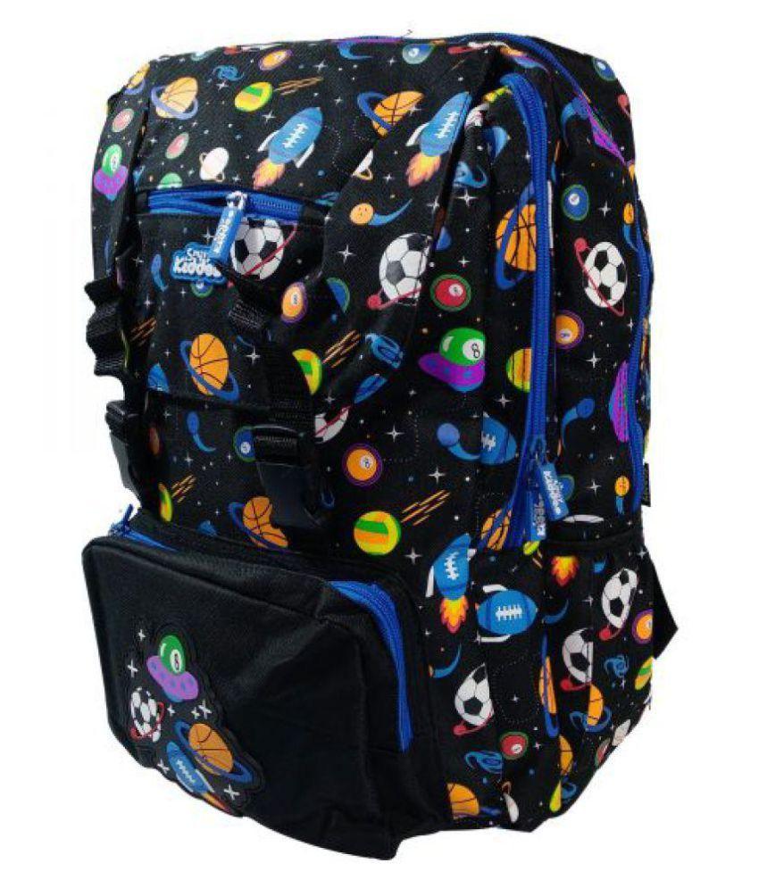 bc82f9fad47 ... Smily Kiddos Fantasy Fold Over Backpack Black   Foldover backpacks for School  Kids   Smily Kiddos