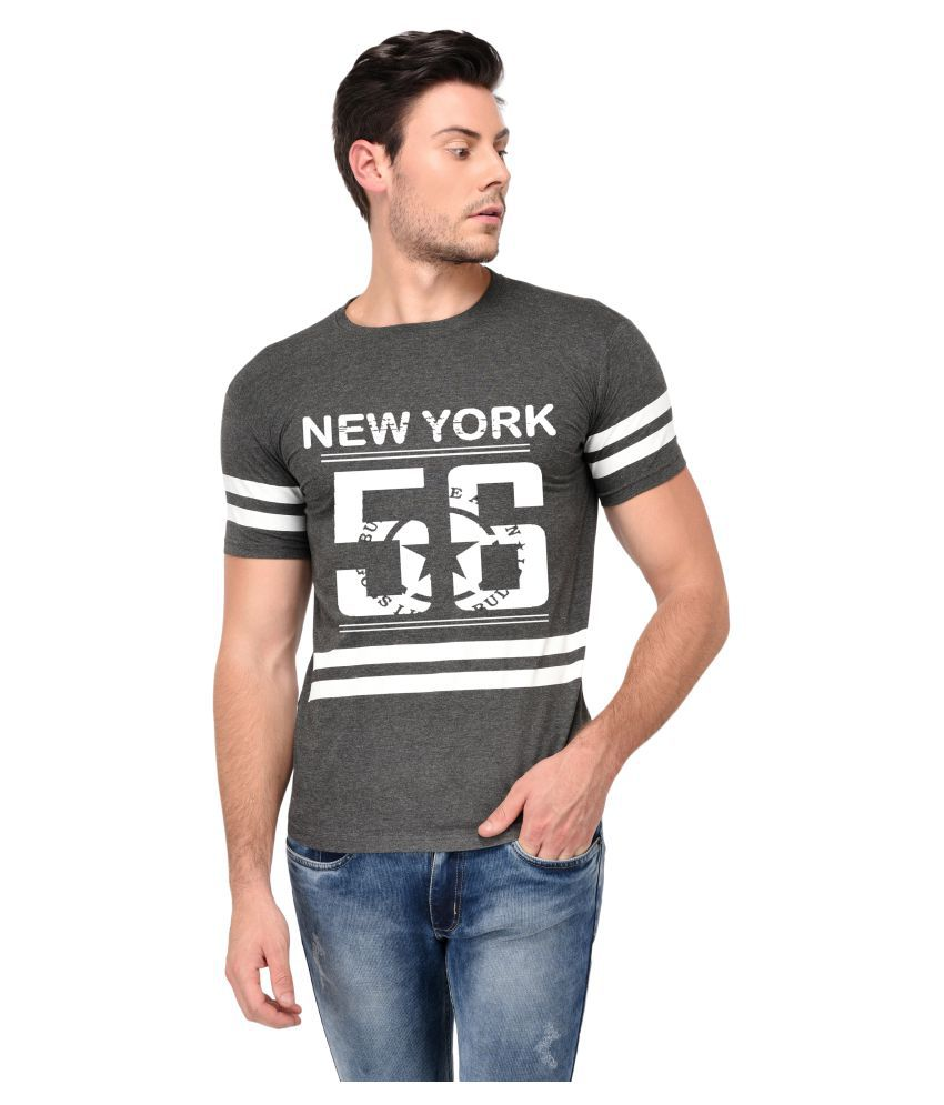Trends Tower Brown Round T-Shirt