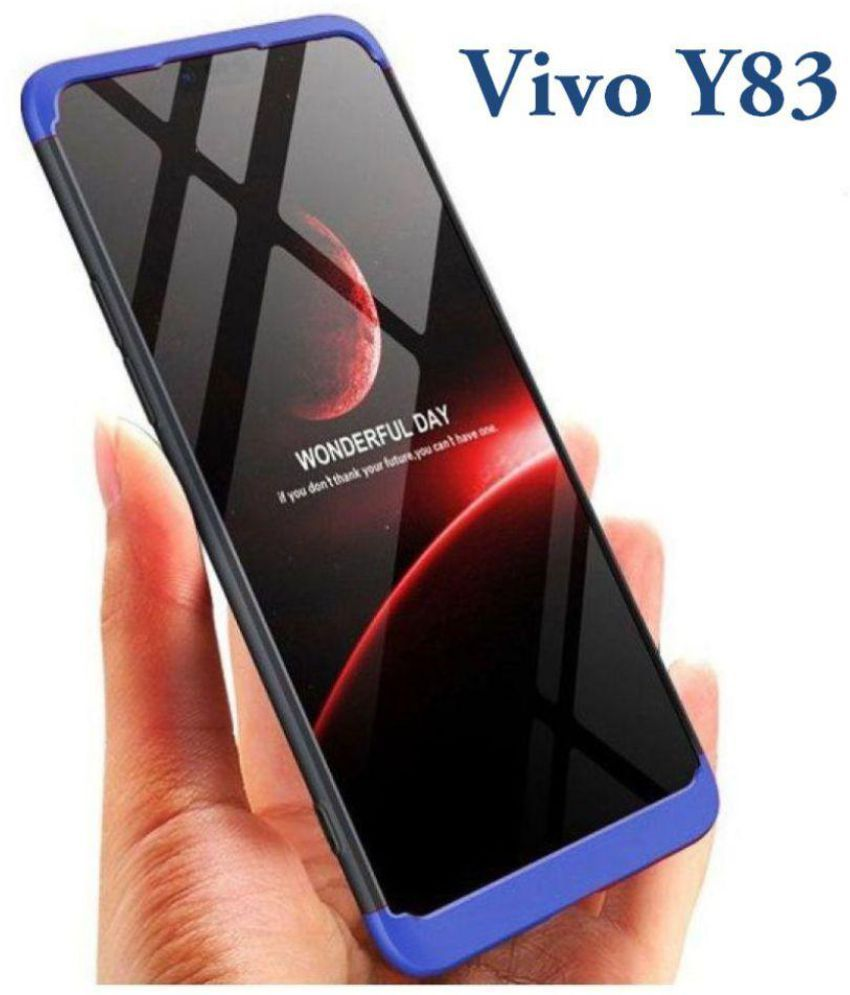 best website d02fd 49936 Vivo Y83 Hybrid Covers JMA - Blue Original Gkk 360° Protection Slim Case