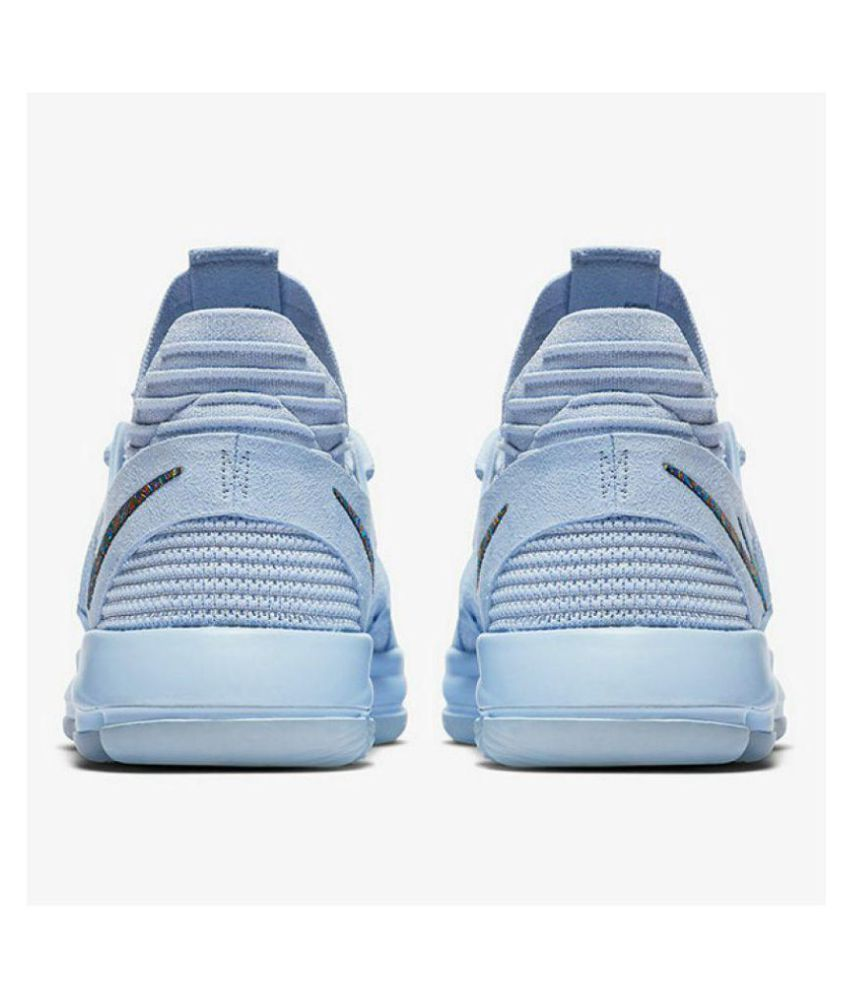 0b95b8cfb6c ... Nike KD 10 Anniversary Basketball Shoe Multi Color Running Shoes ...