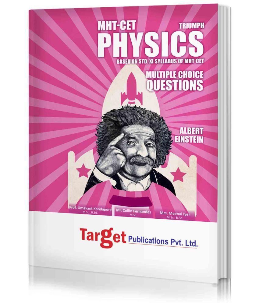 MHT-CET Triumph Physics MCQs (Based on Std  XI Syllabus MH Board)