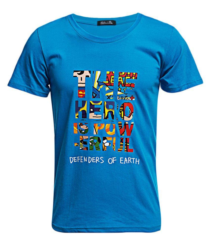 Whitleys Blue Round T-Shirt