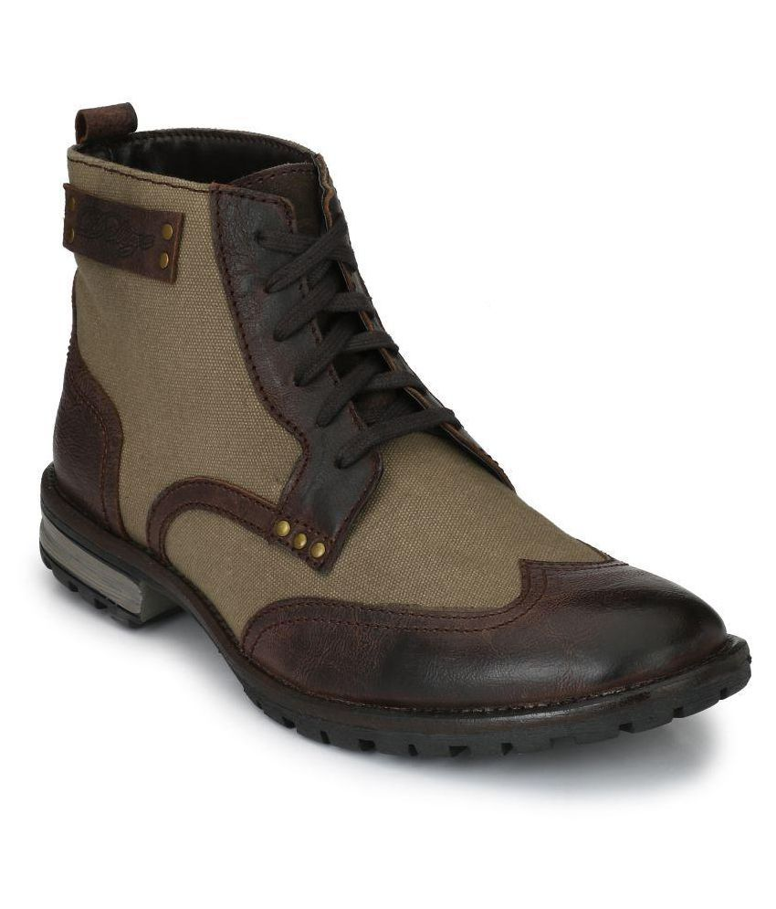 Delize Brown Casual Boot