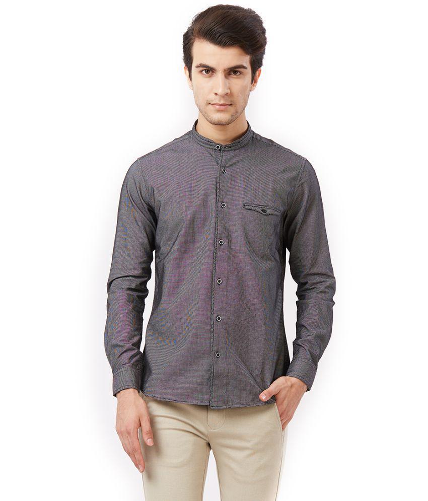 Killer Black Slim Fit Shirt