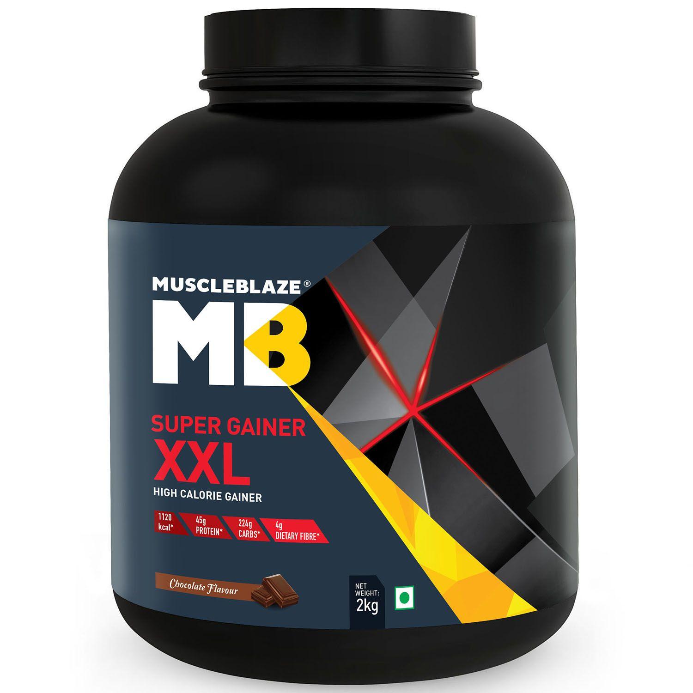 MuscleBlaze Super Gainer XXL 2 kg Mass Gainer Powder Buy