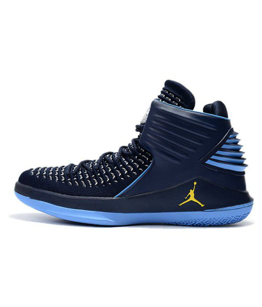 hot sale online 1baf1 ca8f7 NIKE JORDAN 32 flight speed Blue Basketball Shoes - Buy NIKE JORDAN 32 flight  speed Blue Basketball Shoes Online at Best Prices in India on Snapdeal