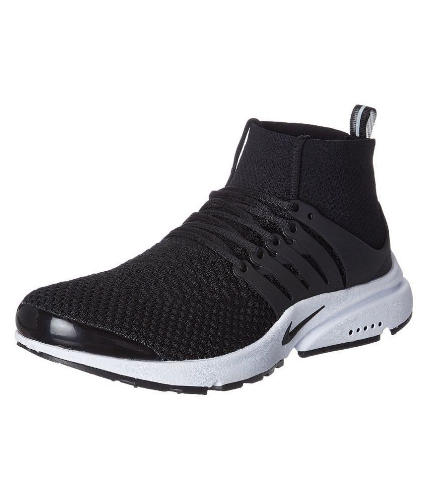 337f221baabd Nike Air Presto Black Running Shoes - Buy Nike Air Presto Black Running  Shoes Online at Best Prices in India on Snapdeal