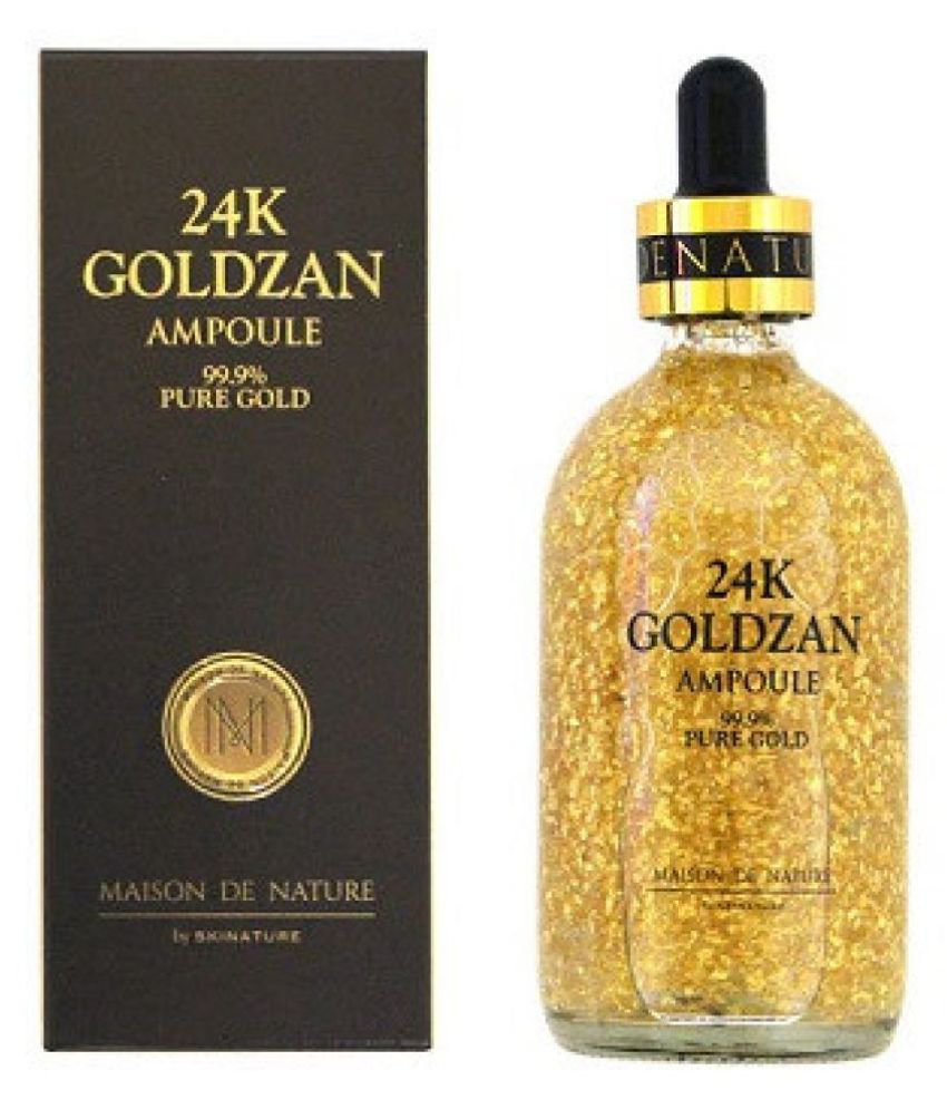 24k Goldzan Ampoule Pure Gold Face Serum 100ml Buy 24k