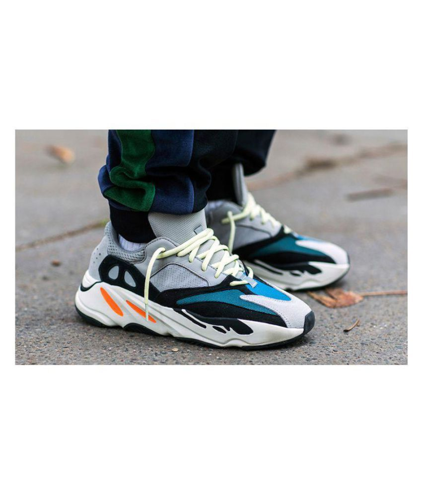 6dcd5217b3e ... Adi Adidas Yeezy Boost 700 Waverunner Lifestyle Multi Color Casual Shoes