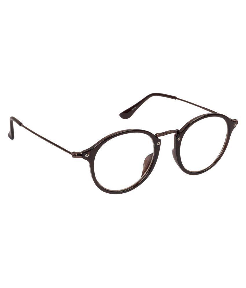 Arzonai Clear Oval Sunglasses ( MA-087-S4 )