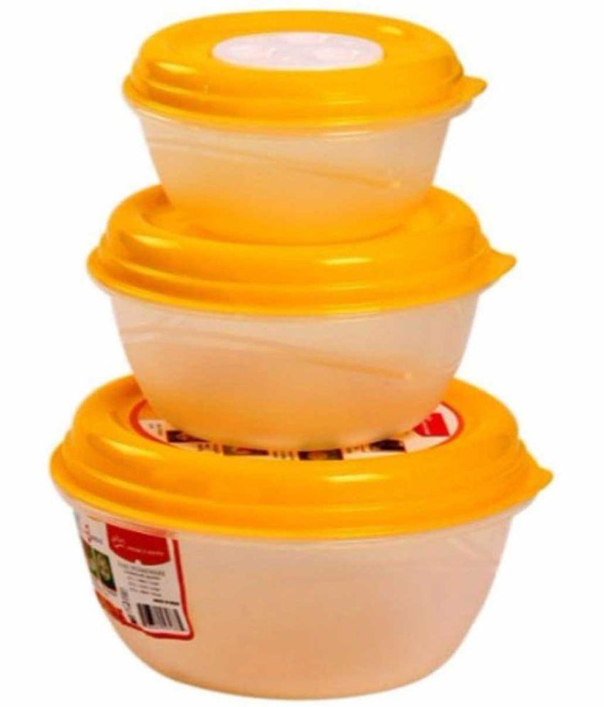 GreenViji Polyproplene Food Container Set of 3