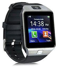 WDS Dz09 Smartwatch Suited Asus PadFone X - Silver Smart Watches