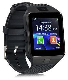 WDS Dz09 Smartwatch Suited Asus ZenFone 3 Zoom - Black Smart Watches