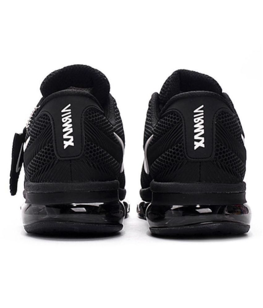 cheaper 7526d 34162 ... Nike Air Max 2017 Rubber Premium SP Black Running Shoes ...