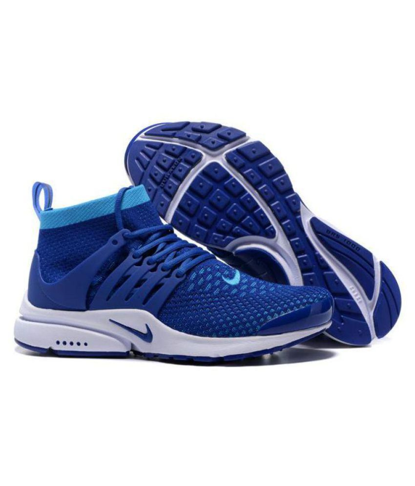 factory price 8af57 cbf29 Nike Air Presto Ultra Flyknit Blue Running Shoes