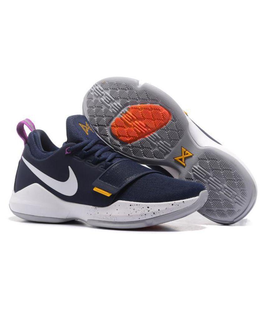 372b66461d01 Nike PG 1 PAUL Navy Basketball Shoes - Buy Nike PG 1 PAUL Navy ...
