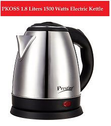 Prestige PKOSS 1.8 Liters 1500 Watts Stainless Steel Electric Kettle
