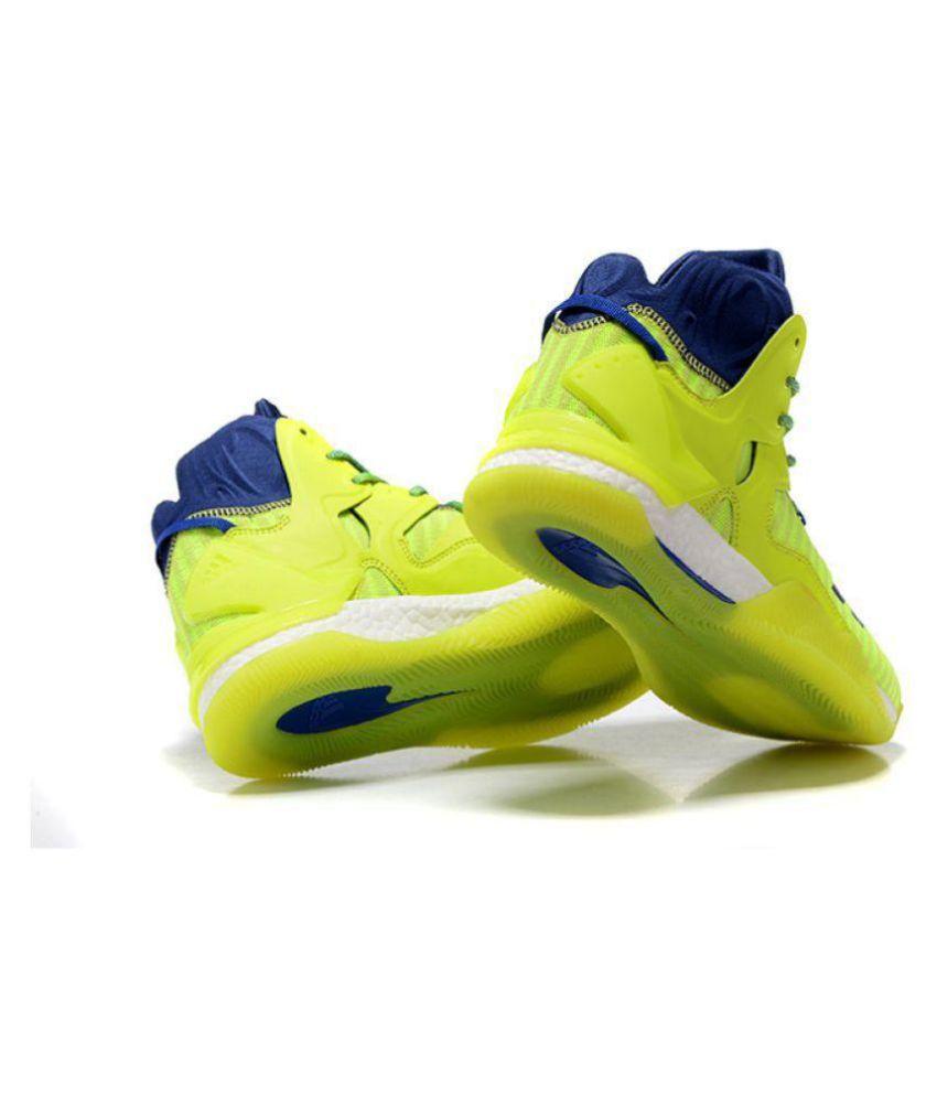 meet 727e0 caabf ... Adidas D ROSE 7 PRIMEKNIT Green Basketball Shoes ...