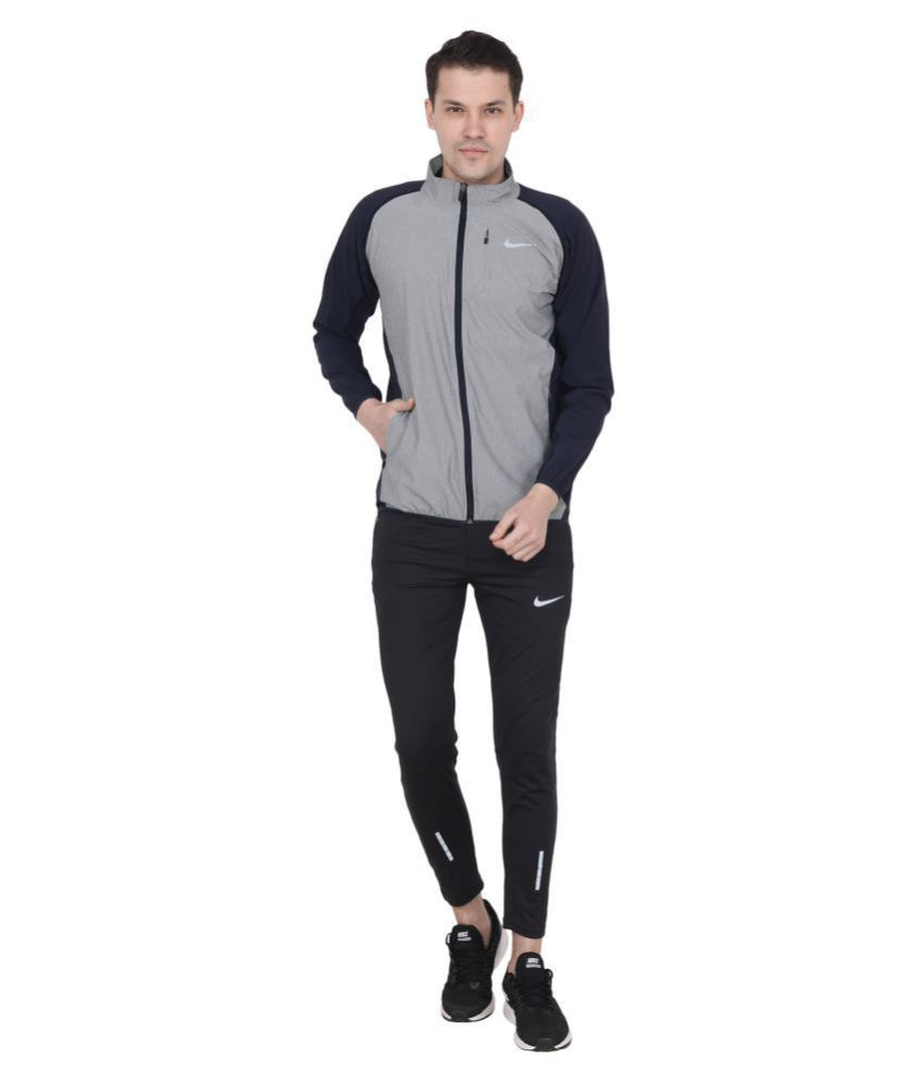 20ebb4178409a Nike Grey Polyester Terry Jacket - Buy Nike Grey Polyester Terry Jacket  Online at Low Price in India - Snapdeal