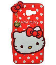 Quick View. Samsung Galaxy J7 Prime Soft Silicon Cases ELEF - Red Hello Kitty Designer Case